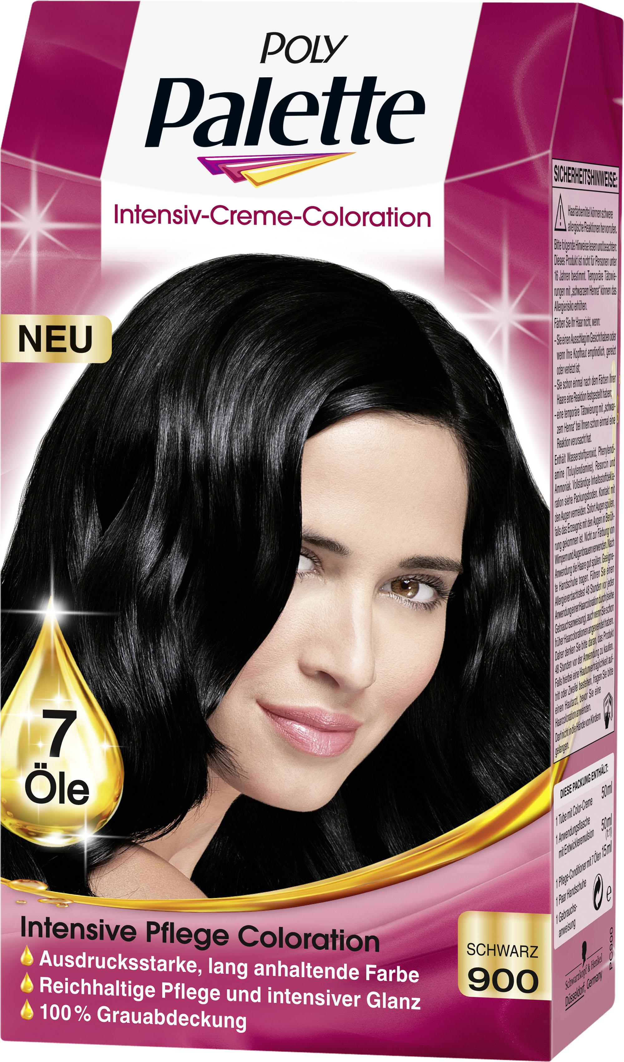 Haarfarbe schwarz oder dunkelbraun