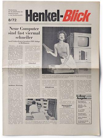 """""""Henkel-Blick"""", 1972"""