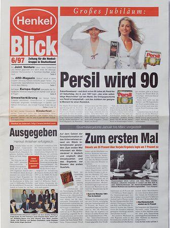 """""""Henkel-Blick"""", 1997"""