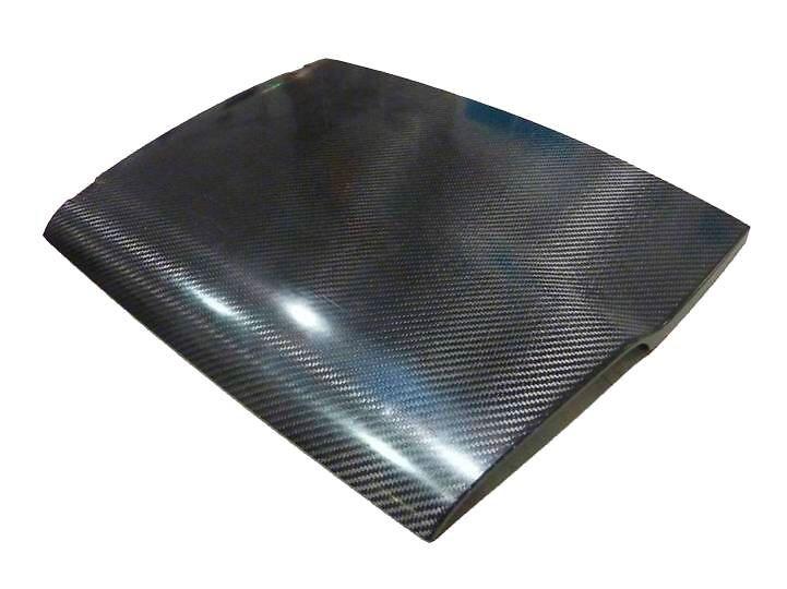 Karbon-Dachsegment des Roding Roadster R1
