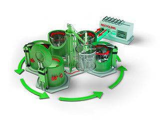 Mit den vollautomatischen Loctite Imprägnierverfahren mit Recyclingsystem können sämtliche Porositäten in Metallbauteilen abgedichtet werden.