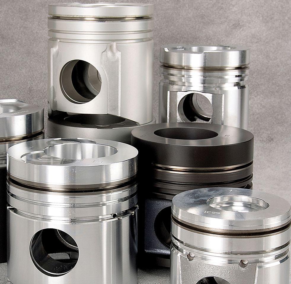 Henkel bietet eine differenzierte Produktpalette von elektrokeramischen Beschichtungen, die sich unter anderem für die Beschichtung von Motorkolben eignen.