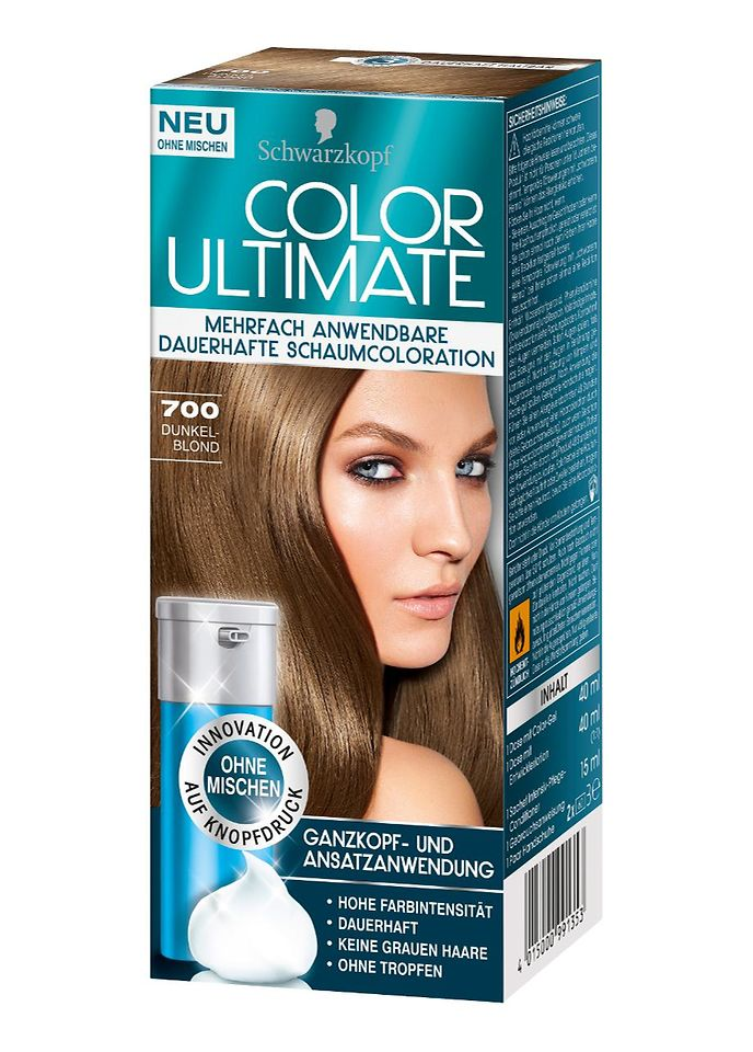 Color Ultimate 700 Dunkelblond