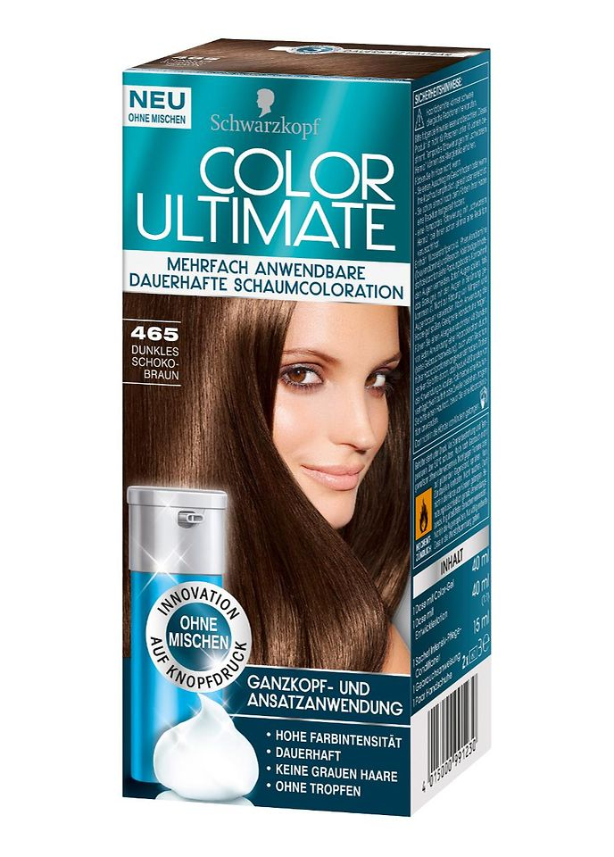 Color Ultimate 465 Dunkles Schokobraun