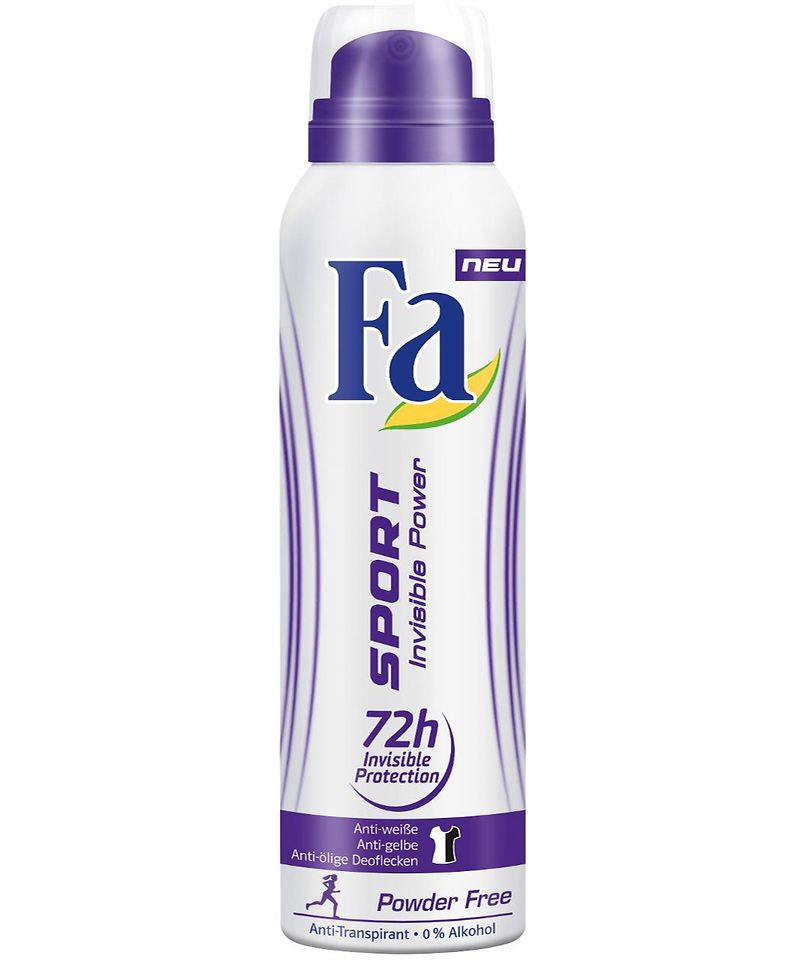 Fa Sport Invisible Power Deospray