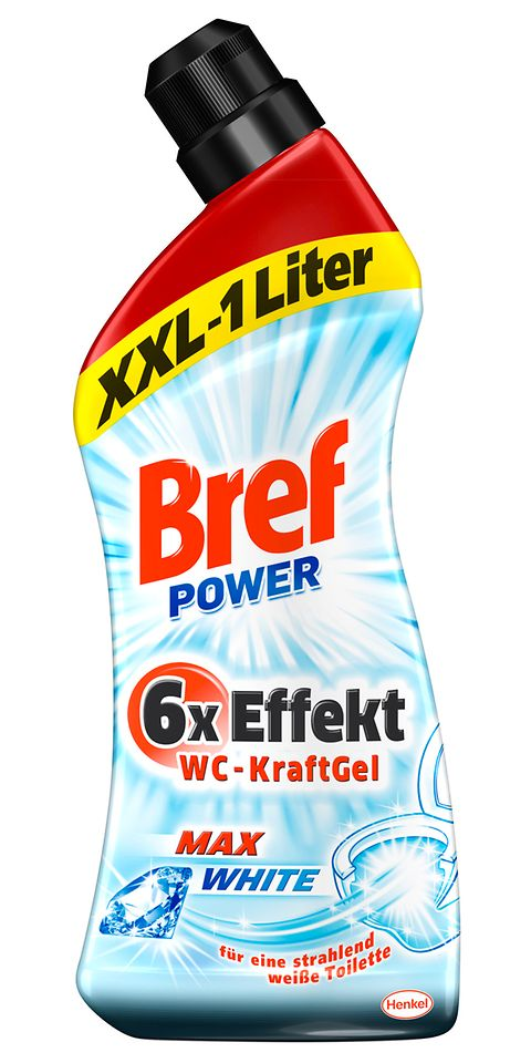 Bref Power WC-KraftGel Max White