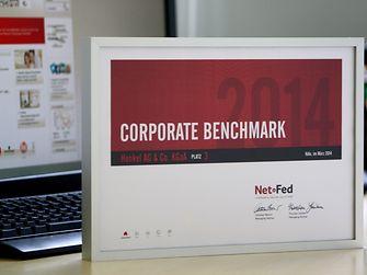 Die Henkel-Webseite wurde beim Webseiten-Ranking von NetFederation mit dem 3. Platz ausgezeichnet.