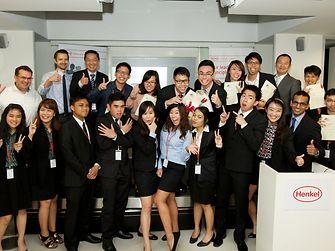 Die Teilnehmer des regionalen Finales in Südost Asien.