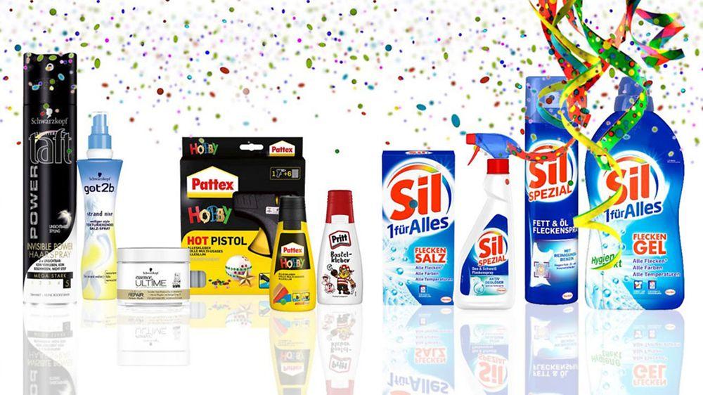 Helau Henkel Produkte Für Karneval