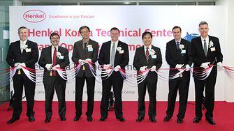 Die Eröffnungsfeier im Henkel Korea Technical Center am 17. Januar 2014.