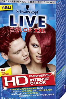 Live Color XXL HD 43 Red Passion