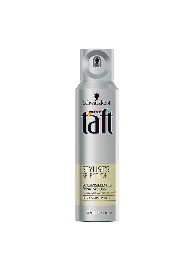 taft Stylist´s Selection volumisierendes Spray-Mousse