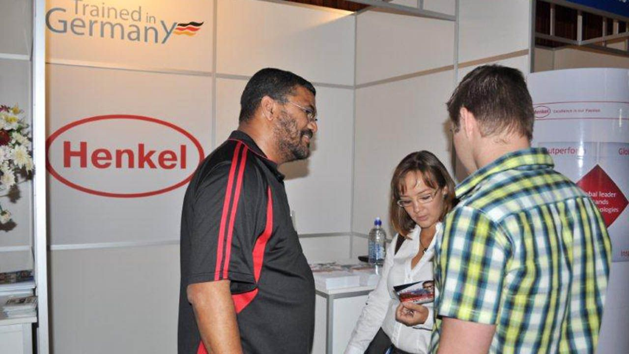 Henkel South Africa participated in the Trained in Germany job fair in Johannesburg.