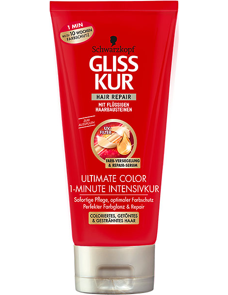 Gliss Kur Ultimate Color 1-Minute Intensivkur