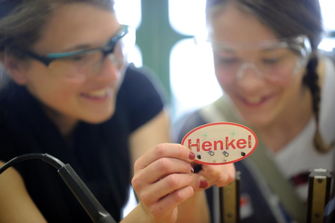 Girls' Day bei Henkel
