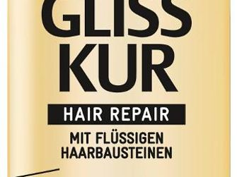 Gliss Kur Ultimate Oil Elixir Express-Repair-Spülung