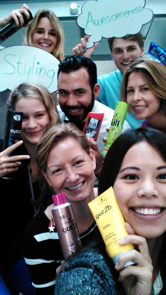Henkel Day 2014: Team-Selfies für einen guten Zweck