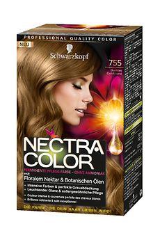 Nectra Color 755 Dunkles Goldblond