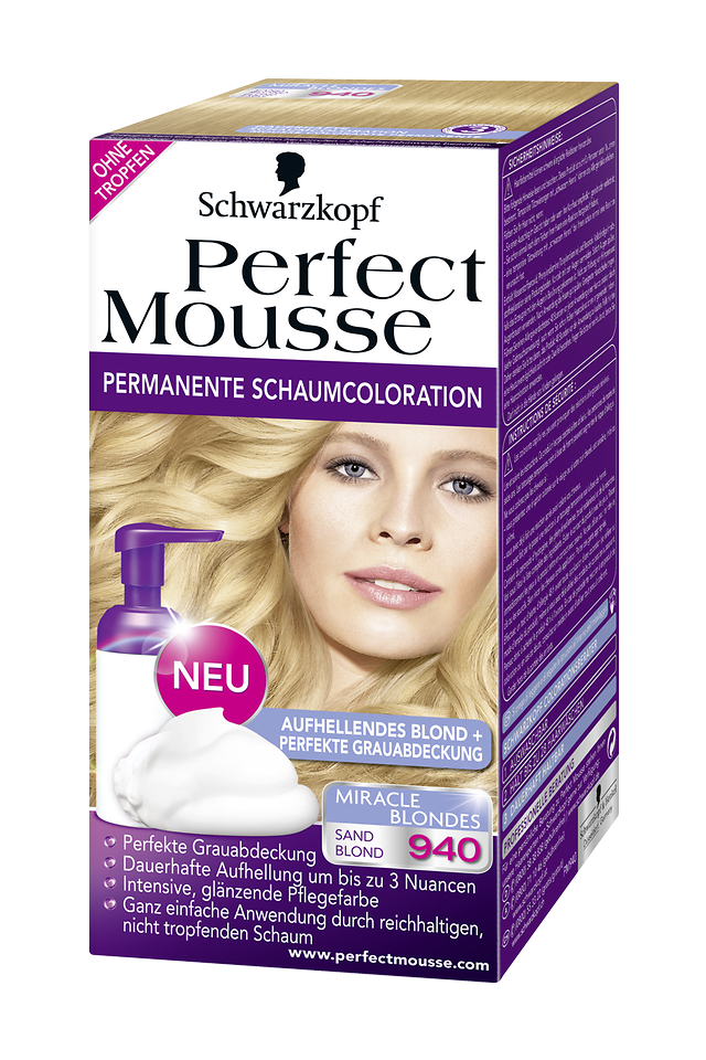 Perfect Mousse Miracle Blondes 940 Sand Blond