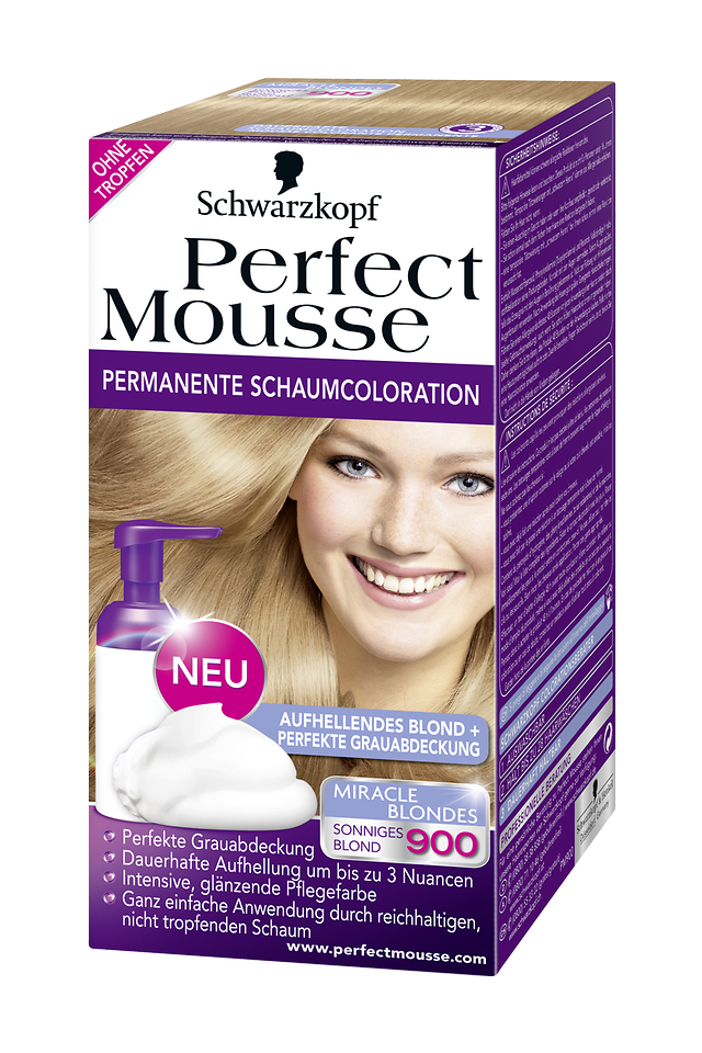 Perfect Mousse Miracle Blondes 900 Sonniges Blond