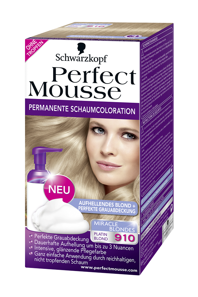 Perfect Mousse Miracle Blondes 910 Platin Blond