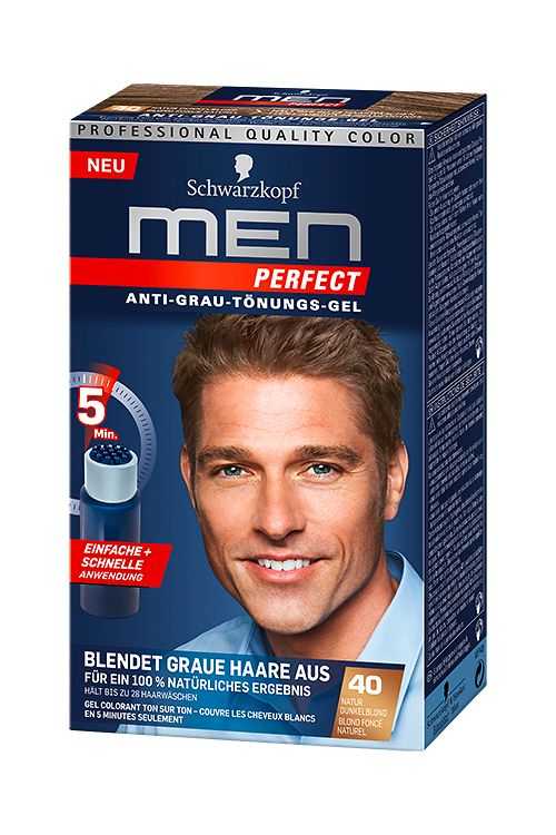 Men Perfect 40 Natur Dunkelblond