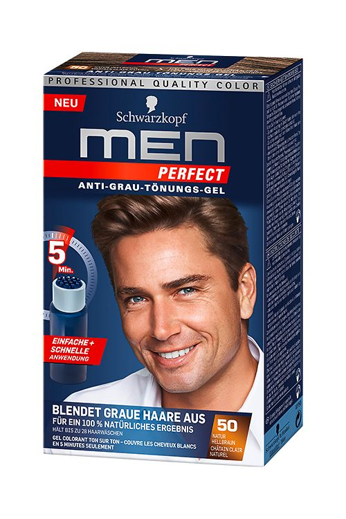 Men Perfect 50 Natur Hellbraun