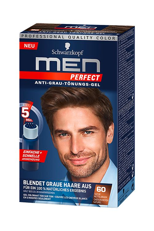 Men Perfect 60 Natur Mittelbraun