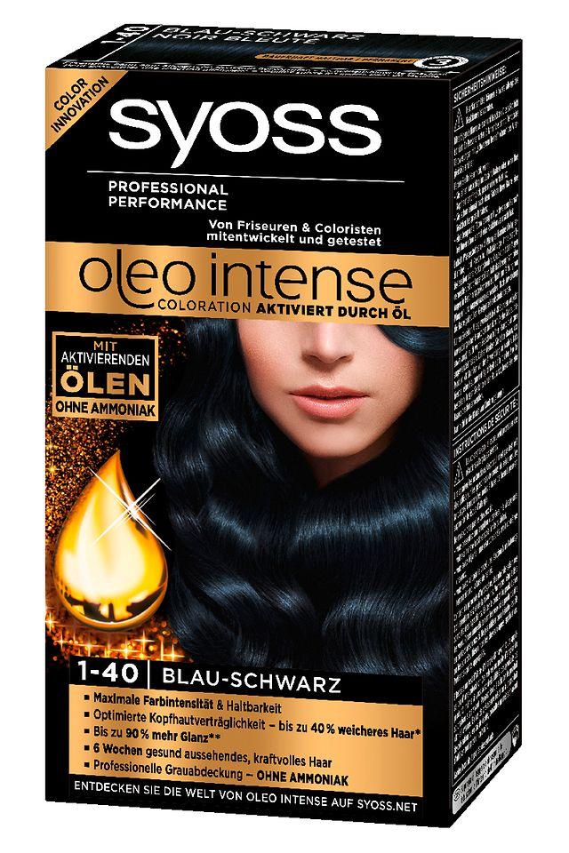 Syoss Oleo Intense 1-40 Blau-Schwarz