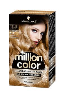 Million Color 9-5 Goldenes Honigblond