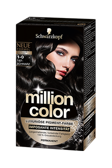 Million Color 1-0 Tiefschwarz