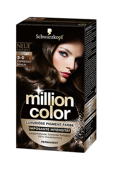Million Color 3-0 Espresso Braun
