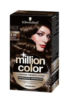 Million Color 3-65 Dunkle Schokolade