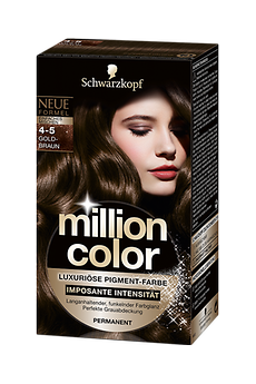 Million Color 4-5 Goldbraun