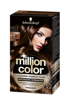 Million Color 5-6 Magisches Braun