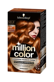 Million Color 7-77 Glänzendes Kupferrot