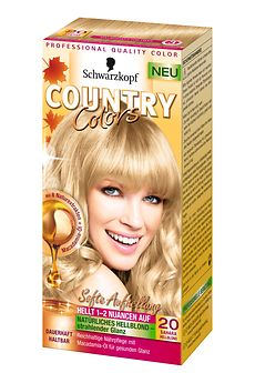 Country Colors Softe Aufhellung 20 Sahara Hellblond