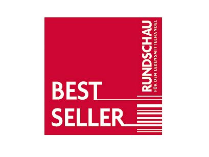 """Die """"Rundschau für den Lebensmittelhandel"""" hat erneut die begehrte Auszeichnung """"Bestseller"""" vergeben"""