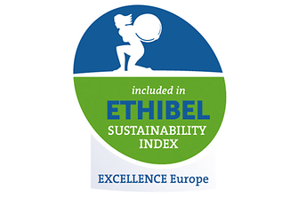 Logo Ethibel Pioneer and Excellence