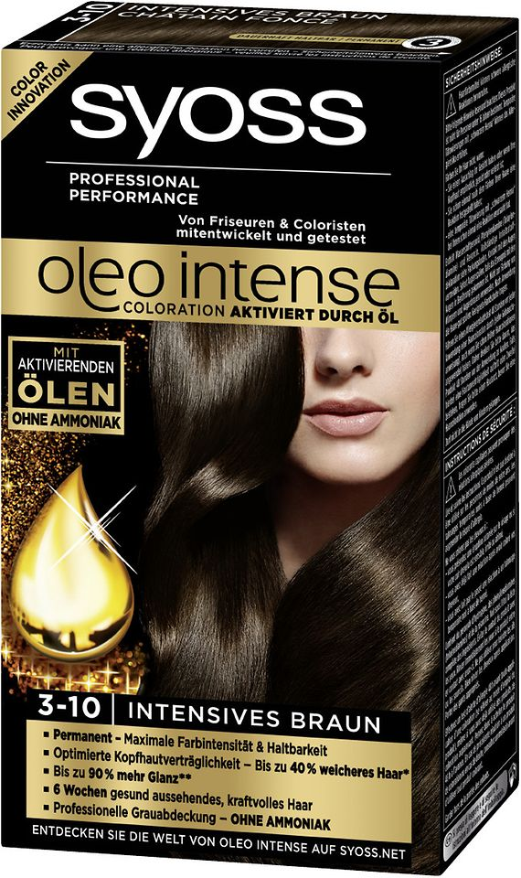 Syoss Oleo Intense 3-10 Intensives Braun