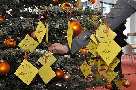 Weihnachtswunschbaumaktion der MIT-Initiative