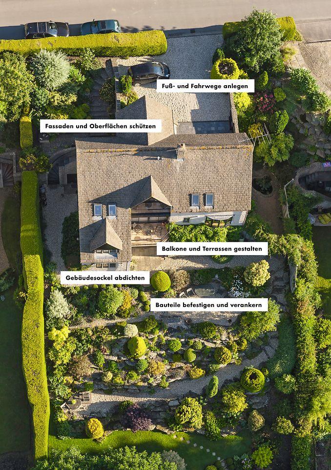 """Im Rahmen des neuen Schwerpunkts """"Rund ums Haus"""" bietet Ceresit eine Vielzahl an Lösungen an, die für ein rundum schönes Zuhause sorgen."""