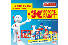 "Coupon Sofortrabatt-Aktion ""Einfach Sauber"" 2015"