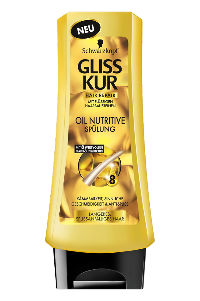 Gliss Kur Oil Nutritive Spülung