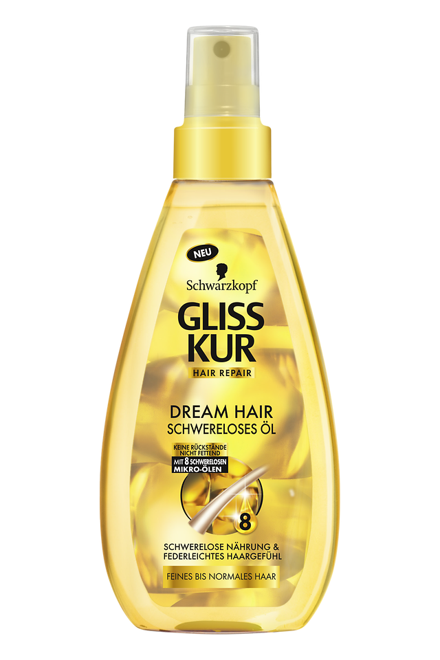 Gliss Kur Oil Nutritive Dream Hair Schwereloses Öl