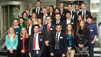 """Teilnehmer nationales Finale der """"Henkel Innovation Challenge"""" in Düsseldorf"""
