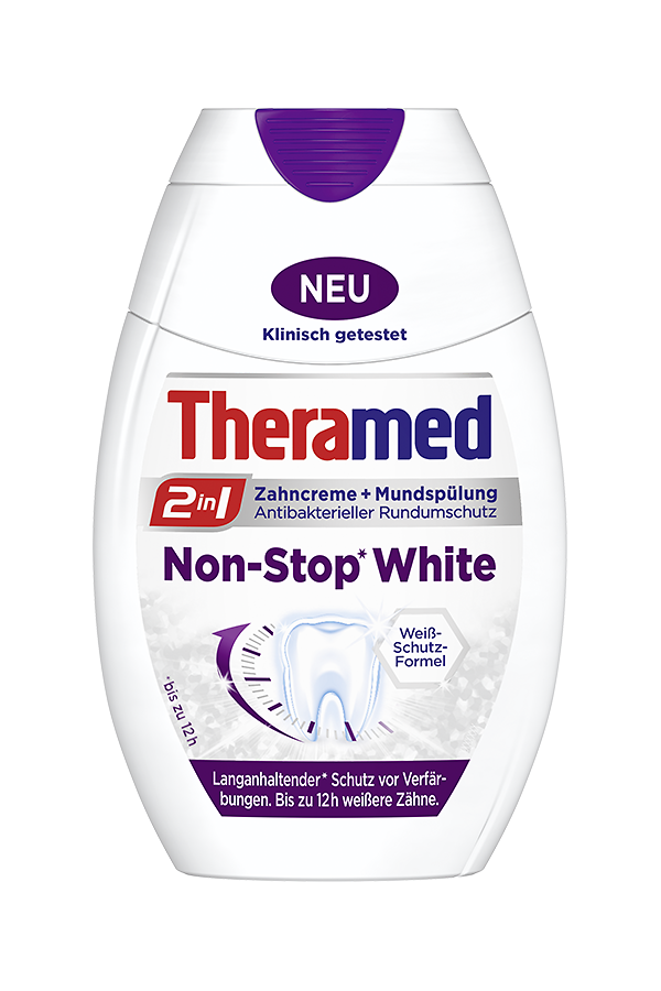 Theramed 2in1 Non-Stop White