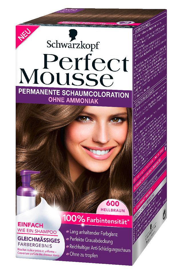 Perfect Mousse 600 Hellbraun
