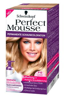 Perfect Mousse 910 Platin Blond