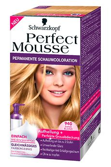 Perfect Mousse 940 Sand Blond